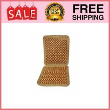 Wooden Beaded Car Driver seat Cushion - Massaging Comfortable Car Seat Cover