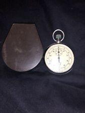 Stoppuhr Russland Made in UDSSR Stopwatch vintage handaufzug Uhr Open Face