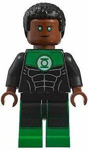 LEGO Super Heroes Green Lantern John Stewart Minifigure from 11914 (Bagged)