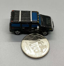 2003 Playmates Speedeez Micro Size Roller Ball Black Hummer H2, Good Condition