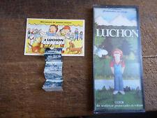 Lot de 2 documents sur Luchon :  guide en voiture et à pieds  -   carte postale