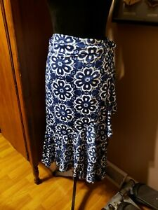 Lularoe Blue Tie Dye XL Bella Skirt