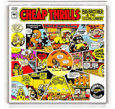 BIG BROTHER AND THE HOLDING COMPANY - CHEAP THRILLS LP COVER FRIDGE MAGNET IMAN