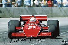 "Formula 1 driver ARTURO MERZARIO hand signed photo autograph 12x8 ""AA"
