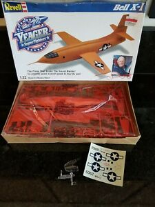 REVEL CHUCK YEAGER BELL X-1 1/32  SCALE JET PLANE MODEL KIT