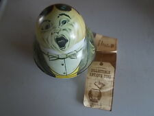 Vtg. Bristol Ware Roly Poly Tobacco w/Insert Tin Singer 1979  Dixie Queen Nice.