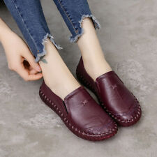 Women Shoes Handmade Women Flats Genuine Leather Flat Women Soft Bottom Ladies