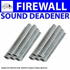 Heat & Sound Deadener for Early Cars 1935-1940Type II Stg1 Firewall Kit