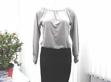 """laura scott"" ladies black and grey dress size 10"