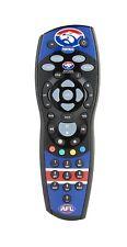 New Foxtel AFL Remote WESTERN BULLDOGS iQ1 iQ2 iQ3 MyStar MyStar2 NDS Foxtel box