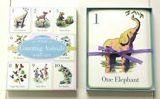 """Kids Decor: """"Counting Animals Wall Art"""" in Box"""