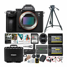 Sony Alpha a7 III 24.2MP Mirrorless Camera Body Only and Accessories Bundle