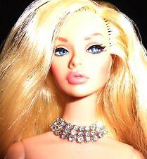 NEW *SILKSTONE * FASHION ROYALTY * POPPY * Doll Jewelry  TRIPLE Dazzle NECKLACE
