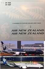 1/144 Boeing 787 Air New Zealand Livery decals TB Decals TBD253