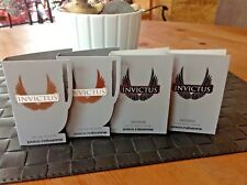 4 SAMPLES PACO RABANNE INVICTUS & INVICTUS INTENSE  Eau de Toilette,1.5 ml-GET 4