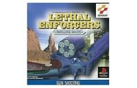 USED PS1 PS PlayStation 1 Lethal Enforcers Deluxe Pack 45833 JAPAN IMPORT