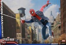 Spider-Man Spider Punk Traje 1:6 Hot Toys Figura 903799 VGM32 * en Stock *