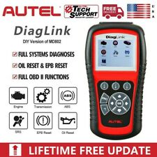 Autel Diaglink ABS SRS OBD2 Car Diagnostic Scanner Full System Oil EPB As MD802