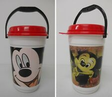 2005 Disneyland 50th Anniversary MICKEY MOUSE Disney Souvenir Popcorn Bucket+Lid