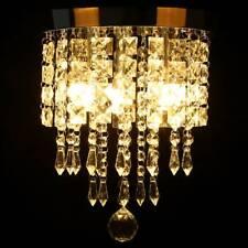 Modern Pendant Ceiling Lamp Crystal Ball Fixture Chandelier Flush Mount Lighting