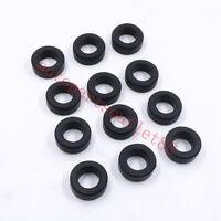 12pcs 23291-23010 AY-S4007 SK129 ES73059 Fuel Injector Lower Rubber Seals Oring