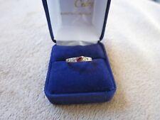 Bague or jaune diamants et rubis