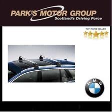 Genuine BMW Aluminium Alu Lockable Roof Bars Rack F11/G31 5 Series 82712347755