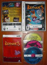 Rayman 3: Hoodlum Havoc [PC CD-ROM] Ubisoft, Code Game, Versión Española