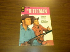 THE RIFLEMAN - #18 Gold Key Comics - TV WESTERN CHUCK CONNORS - 1964
