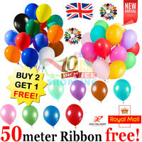 20 X Latex PLAIN BALOON BALLONS helium BALLOONS Quality Birthday Wedding Party
