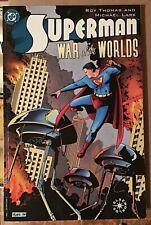 SUPERMAN ELSEWORLDS WAR of the WORLDS UNREAD NM ROY THOMAS  MICHEAL LARK TPB DC