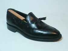 "Johnston & Murphy ""Crown Aristocraft"" Tassel Leather Slip On Shoes Mens 9 C/D"