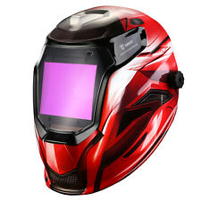 DEKO Auto Darkening Solar Powered Mig Tig Arc Welding Helmet Welding Mask