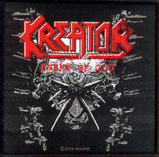 Kreator-Patch ricamate-Enemy of God-NUOVO 10x10cm