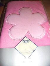 New Mothers Choice Polar Fleece Baby Cot Blanket Pink Girl Soft Walm
