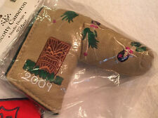 BNIB Scotty Cameron 2009 Hula Girl Blade Putter Headcover Cover