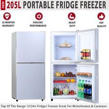 NEW 205L 12V Portable Fridge Freezer For Caravan Motorhome RV Boat Car