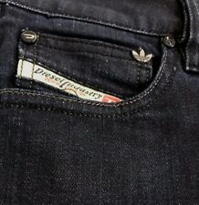 DIESEL RONHARY-AD Adidas Stretch Jeans Made in Italy  Wash: 8AA  Size: 27 x 30