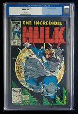 The Incredible Hulk 344 CGC 9.8 Todd McFarlane cover old case and label Rare