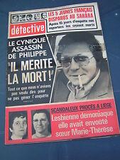 Détective 1976 1542 PRAYSSAC SAINT ANDRé DE SANGONIS SOUSTONS TROYES