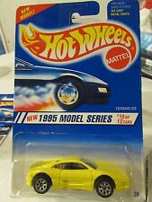 Hot Wheels Ferrari 355 1995 Model series Yellow 7 sp