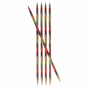 KnitPro Symfonie: Knitting Pins: Double-Ended: Set : 10cm - All Sizes