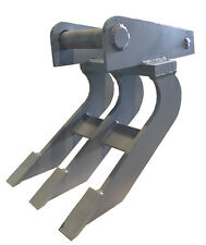 30cm Roderechen MS01 Wurzelreche Feinwurzelschneide Rechen Minibagger