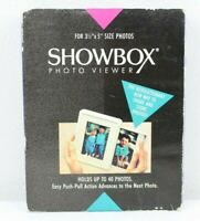 """Showbox Photo Viewer Holds 40 Photos Remarkable 3in1 For 3 1/2"""" x 5"""" Photos #2"""