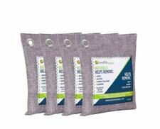 Bamboo Charcoal Air Purifying Bag (4 Pack), 200g Natural Air Purifying Bags