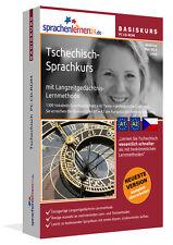 Tschechisch lernen,Sprachkurs,Software,Basiskurs für Anfänger,Sprachenlernen24