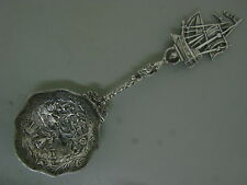 ANTIQUE MARSHALL FIELD & CO. STERLING SILVER BON-BON SPOON NUMBERED # 7005