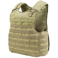 Condor QPC Tan MOLLE Quick Release Operator BALCS/SPEAR Plate Carrier Chest Rig