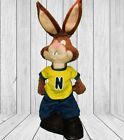 NESTLE NESQUIK Bunny Rabbit Plush Stuffed Animal 30cm 2007 Chocolate Milk Mascot