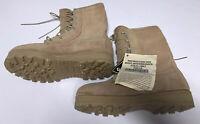 New Belleville Desert Combat Boots Military Army GoreTex!! Vibram Tan Size 5.5W!